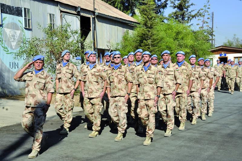 Ensz katonai missziói
